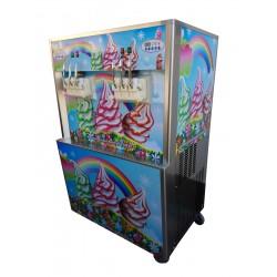 Masina de inghetata RAINBOW ICE cu 6 manete